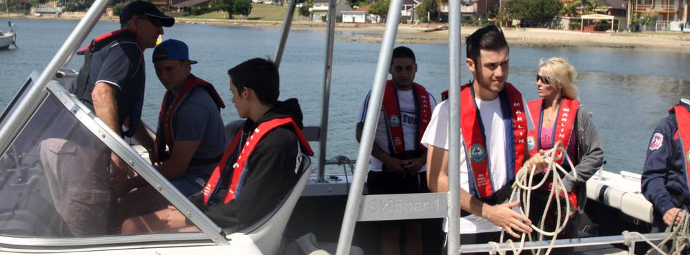 Boat licence practical training