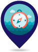 Course location and date icon